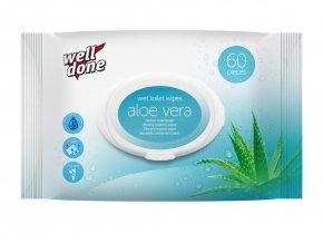 Vlhčený toaletní papír Aloe Vera