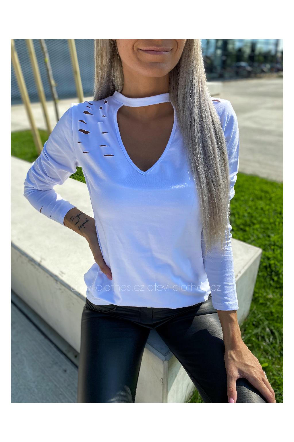 TRIKO V-MOLLY WHITE