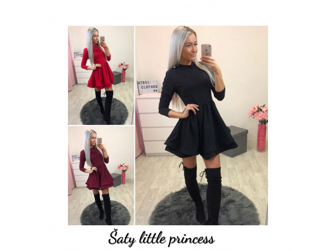 Šaty little princess