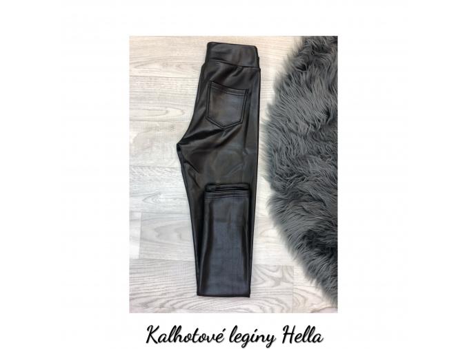 Kalhotové legíny Hella