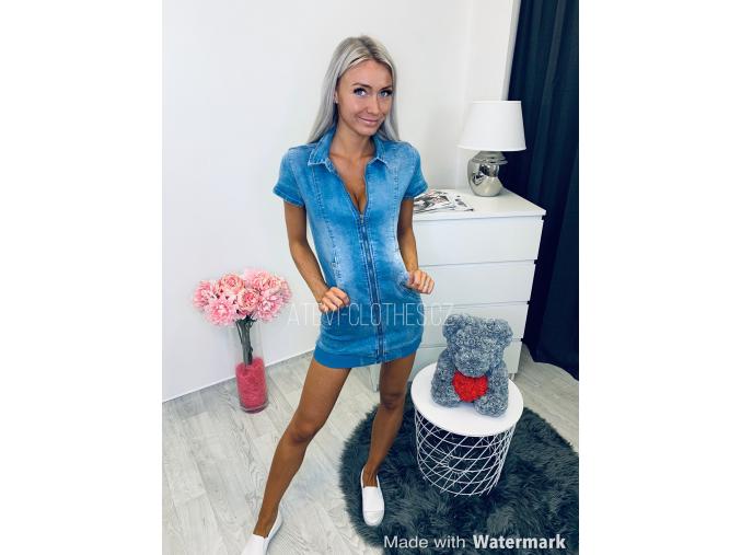 Džínové šaty BEKY