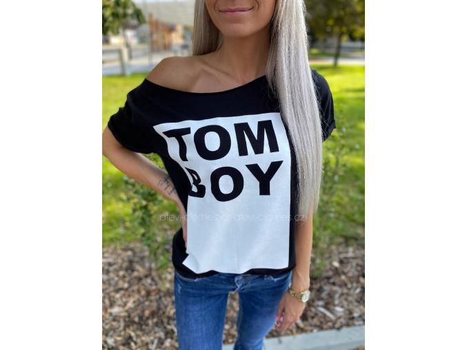 TRIKO TOM BOY BLACK