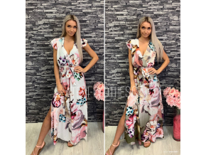 Maxi šaty flower