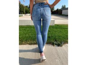spodnie salerno high waist jeans blue 2605 (2)
