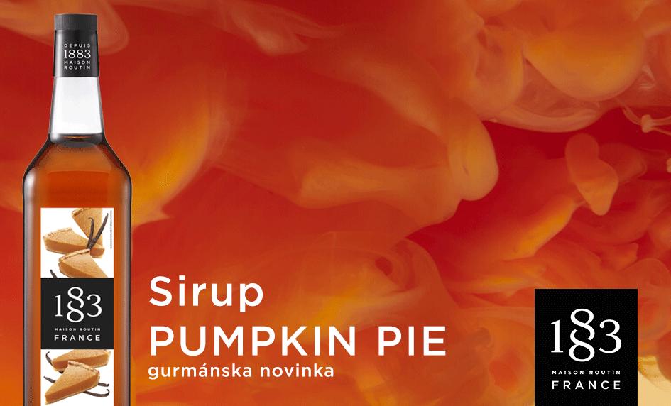 Sirup Pumpkin Pie 1883 Routin