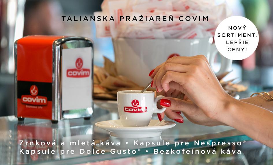 Káva Covim nový sortiment na Athea.sk