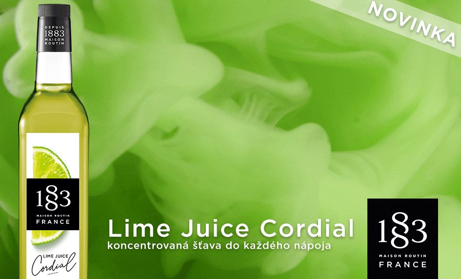 Lime Juice Cordial 1883 Routin