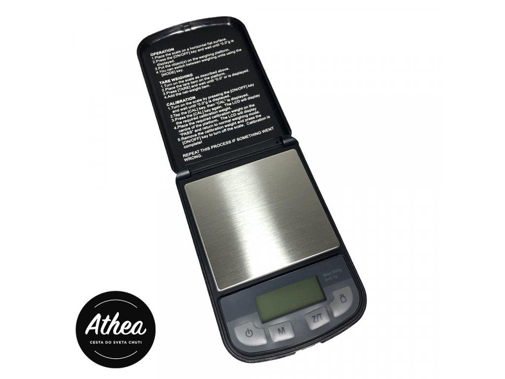 Váha na kávu digitálna presnosť 0,1g max. 600g