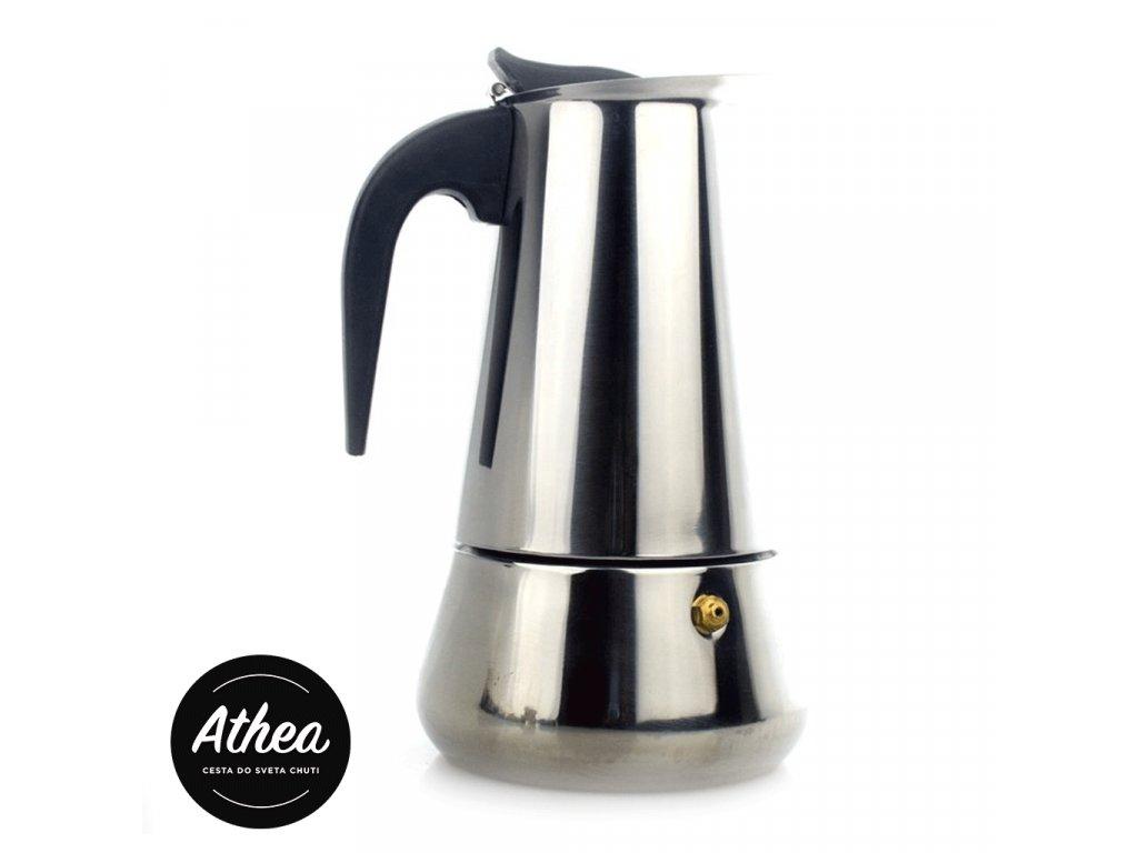 Moka kávovar 4 porcie nerezový