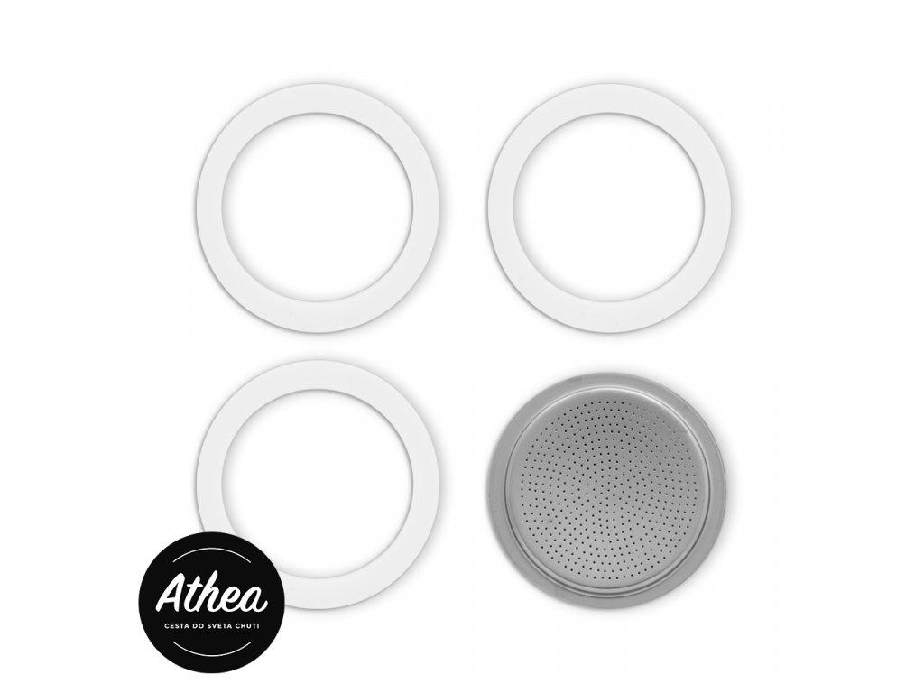 Sada náhradných tesnení a filtra Bialetti 6 šálok