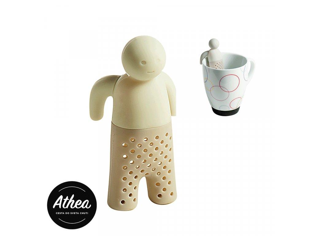 Sitko na sypaný čaj silikónové MAN