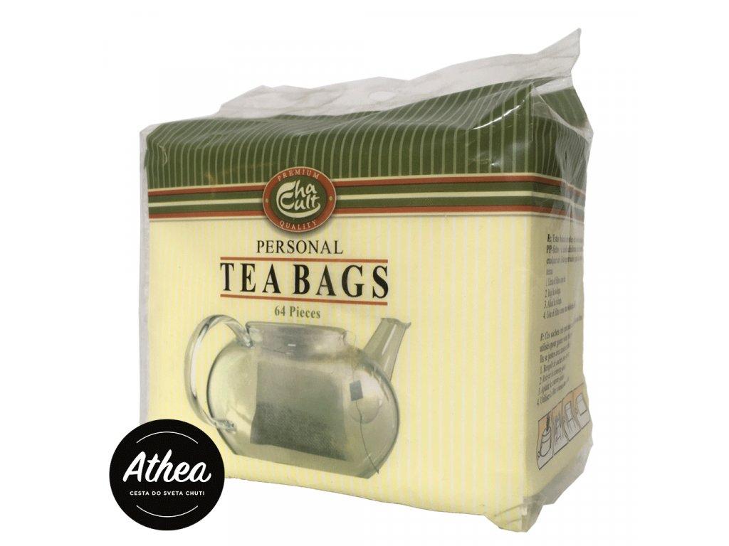 Filtre na sypaný čaj Cha Cult Personal Teabags 64ks