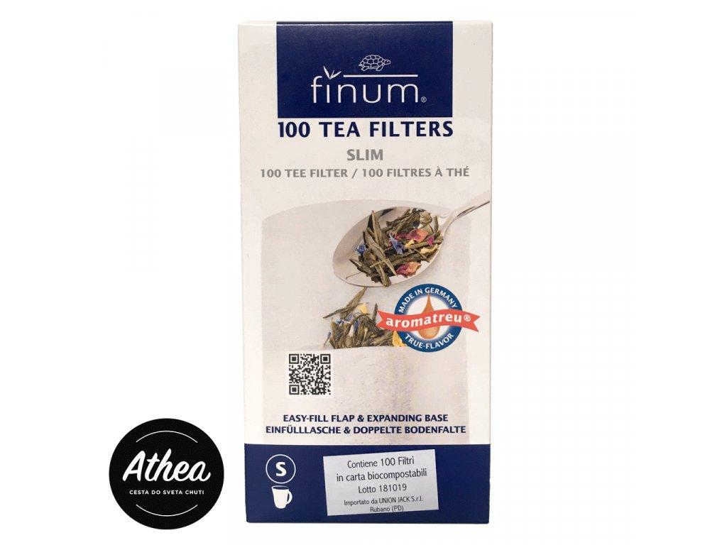 Filtre na sypaný čaj Finum S 100ks