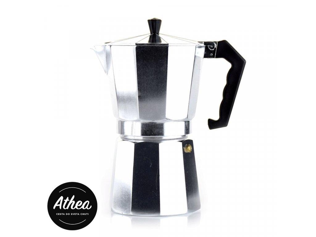 Moka kávovar hliníkový 9 šálok