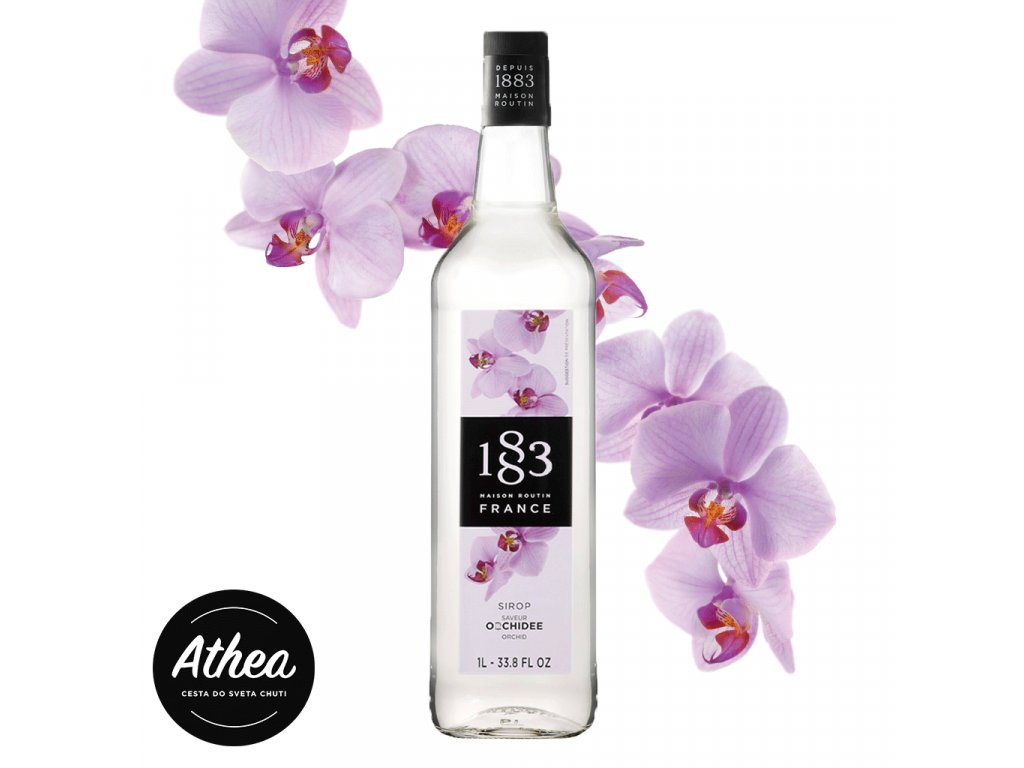 Orchideový sirup 1883 Routin