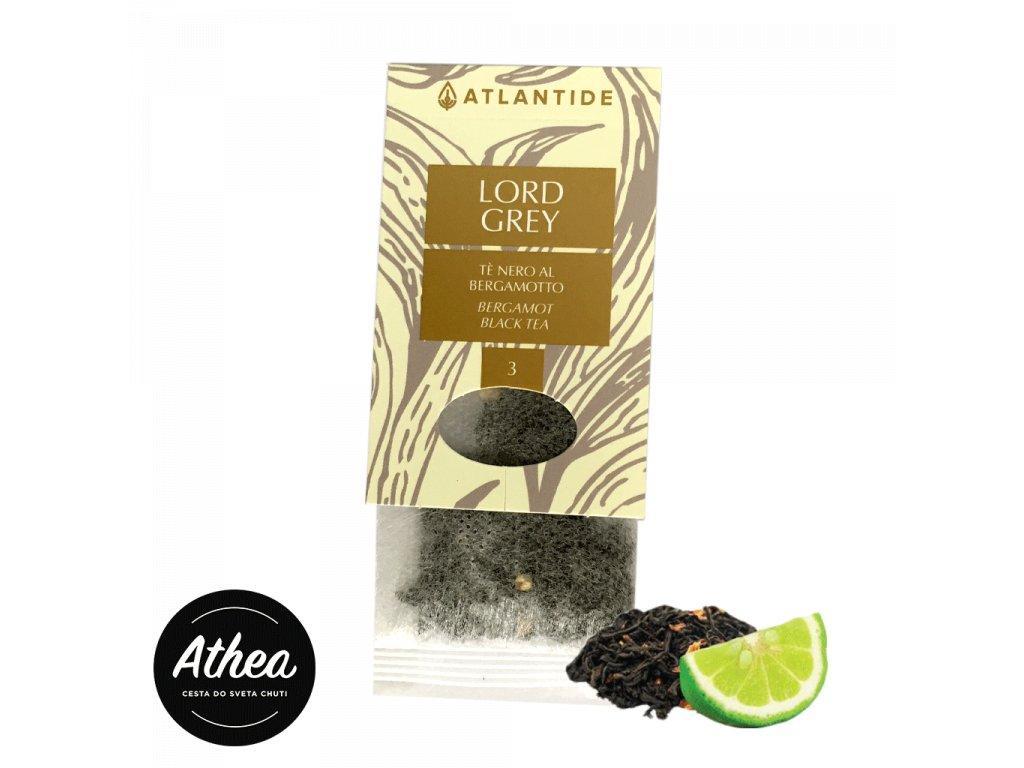 Čierny čaj s bergamotom Lord Grey 1 porcia