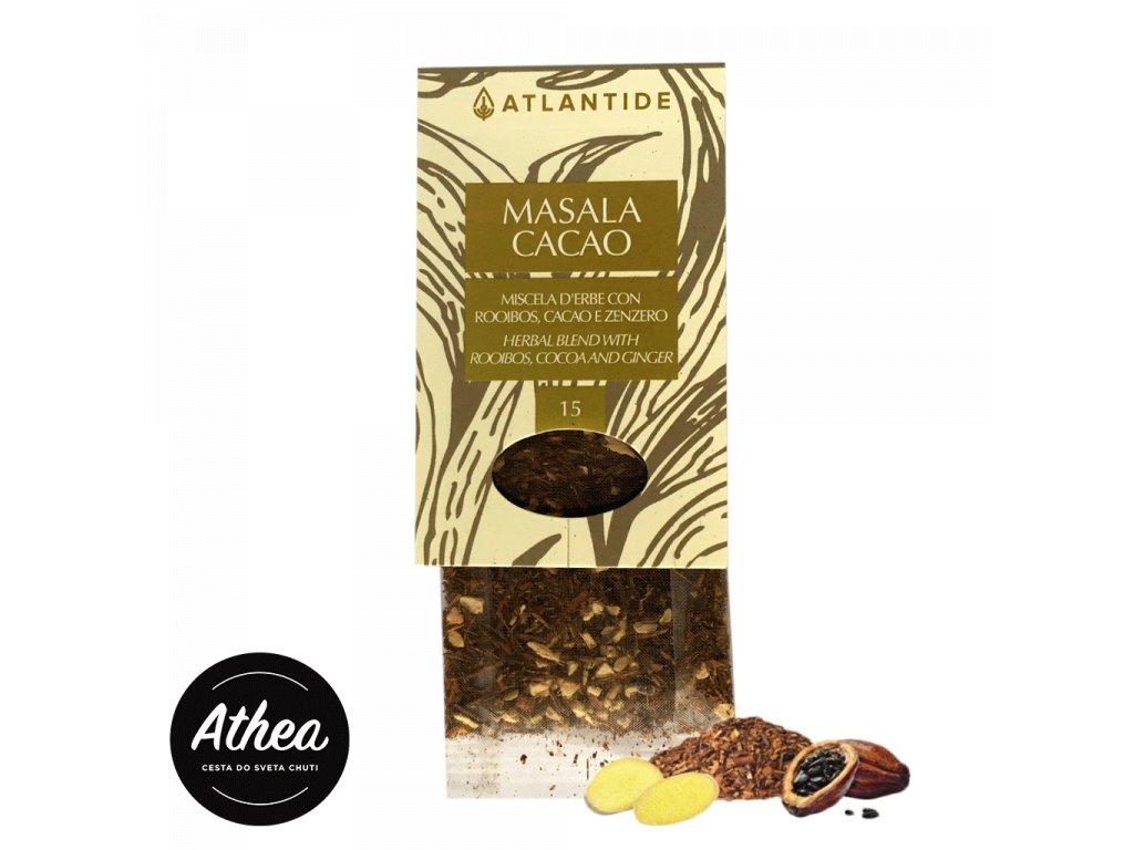 Bylinný čaj rooibos a kakao Masala Cacao 1 porcia