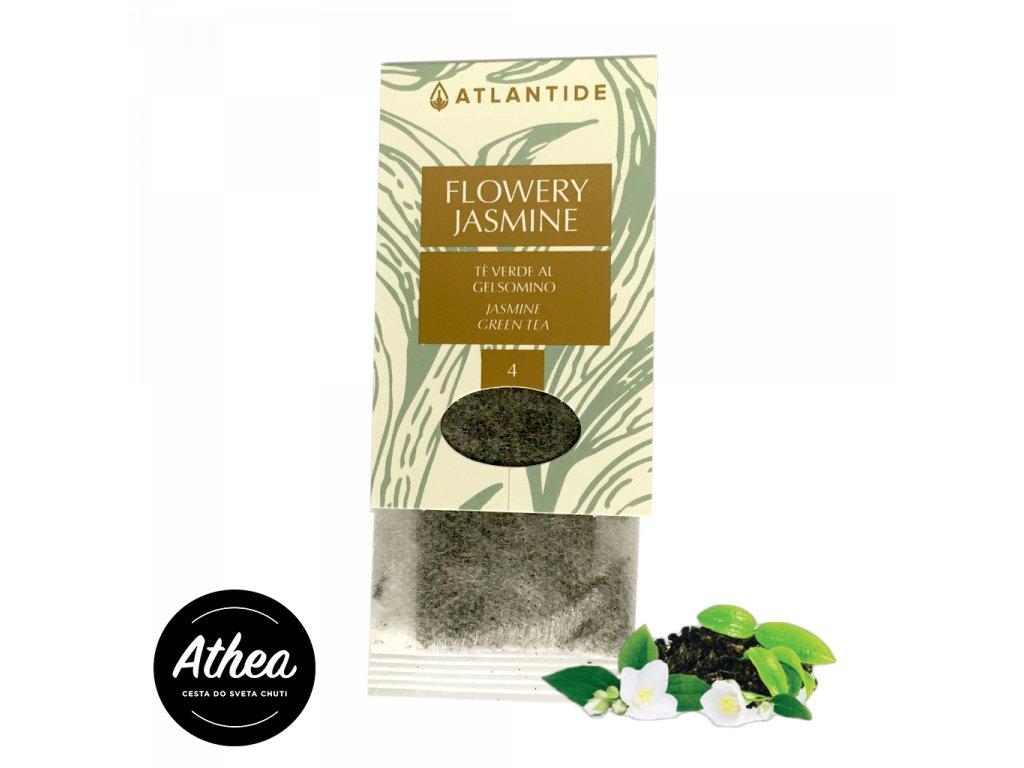 Zelený čaj s jasmínom Flowery Jasmine 1 porcia