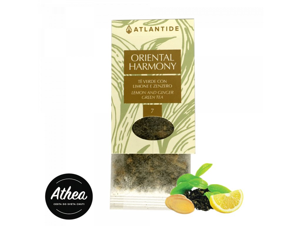 Zelený čaj so zázvorom a citrónom Oriental Harmony 1 porcia