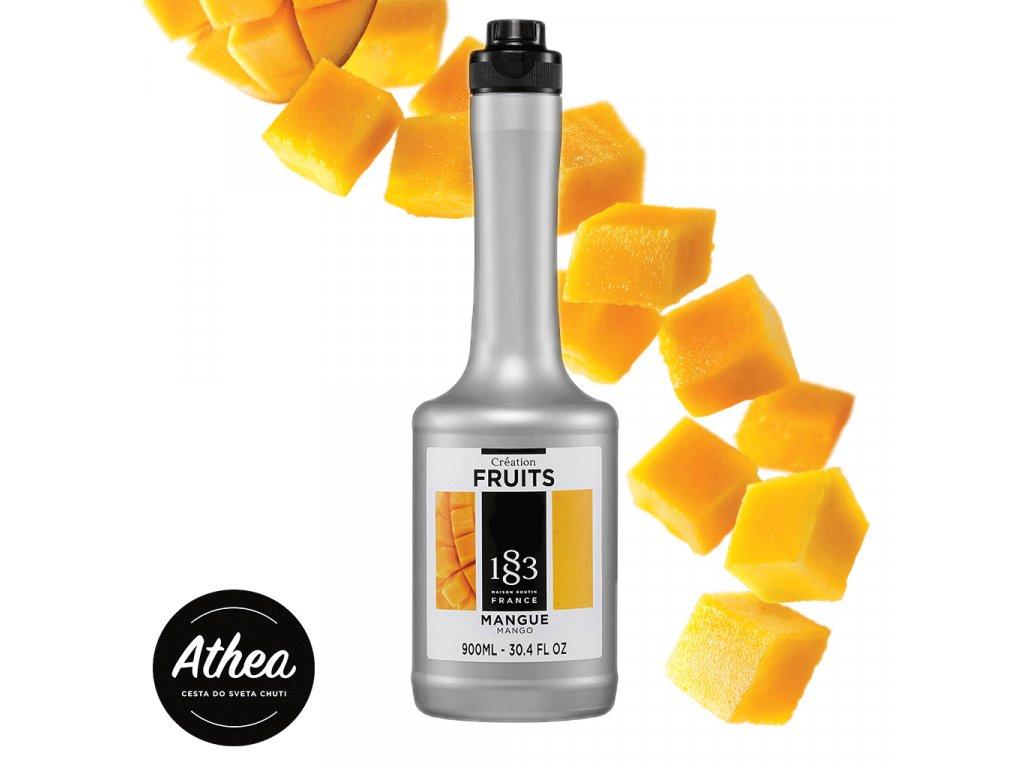 Mangové ovocné pyré 1883 Routin 900ml