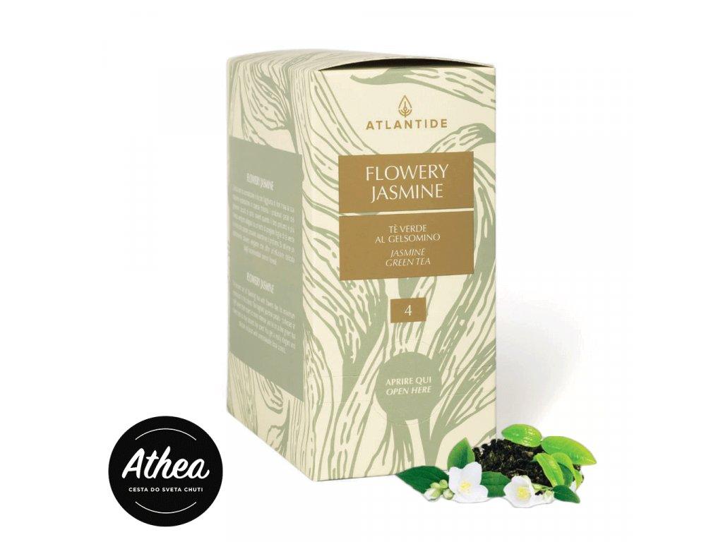 Zelený čaj Flowery Jasmine