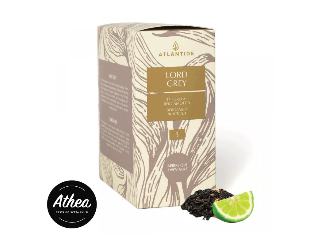 Čierny čaj Lord Grey