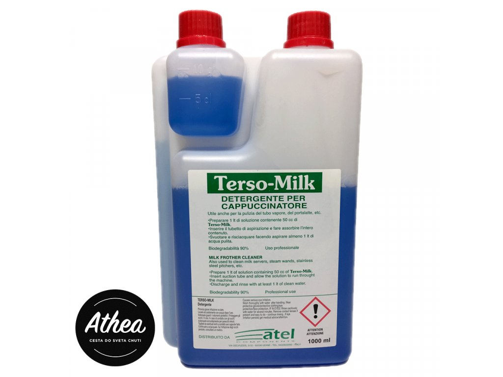 Terso Milk čistič parnej trysky 1000ml