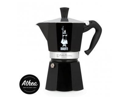 Moka kávovar Bialetti Moka Express 1 porcia čierny