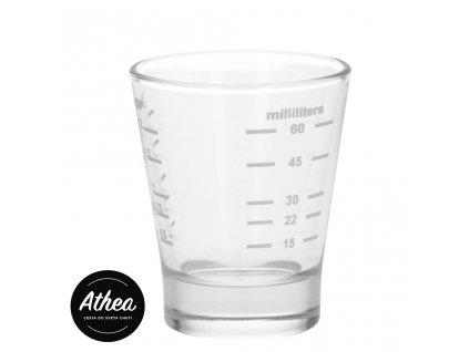 Odmerka na espresso 15/60ml Shot glass