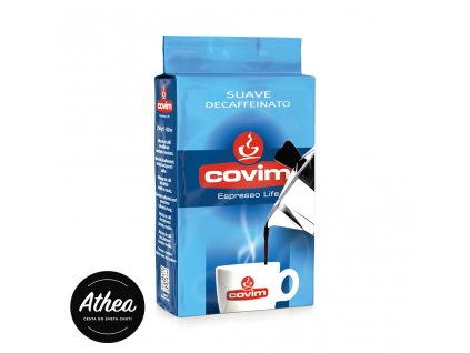 Bezkofeínová káva Covim Suave 250g mletá