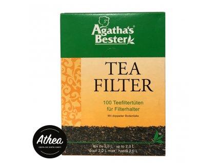 Filtre na sypaný čaj Agatha's Bester 100ks