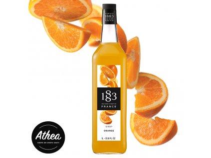 Pomarančový sirup 1883 Routin