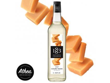 Butterscotch sirup - Maslový karamel 1883 Routin 1l