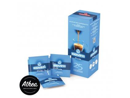 Bezkofeínová káva E.S.E. pody Covim Suave
