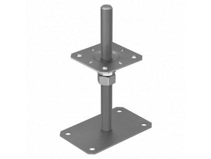PSRP 80 Stavitelná patka sloupku 80x140x250x3,0 mm M20