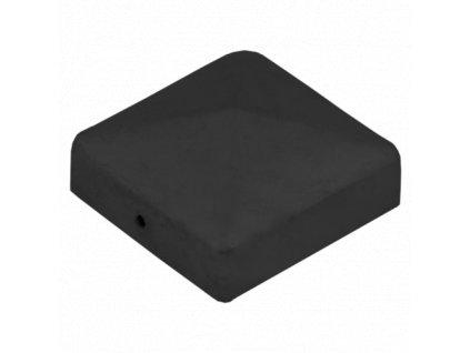 DK 70 Stříška čtvercová pro sloup 70mm černá