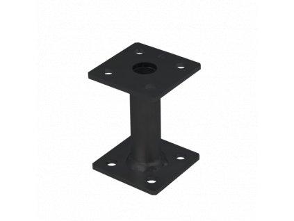 PMF 80/100 Patka sloupku 80x80x100x5,0 černá