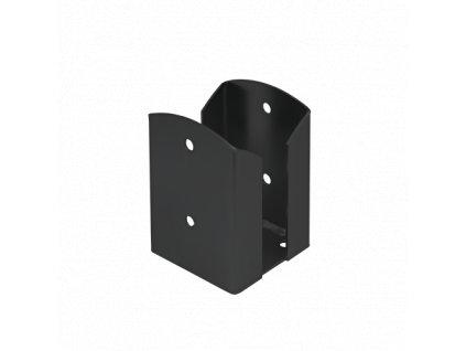 PSPW 100 Patka sloupku 102x150x2,5mm černá