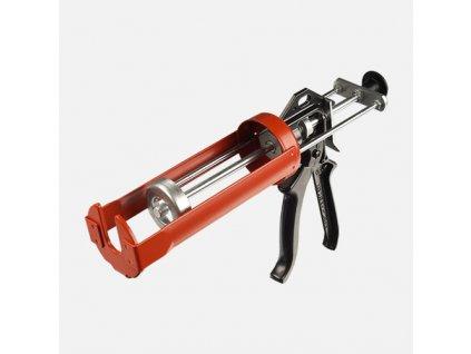 Aplikační pistole pro chemické kotvy kovová DB