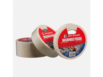 Maskovací krepová páska 60 °C