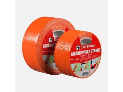 Fasádní páska STRONG oranžová