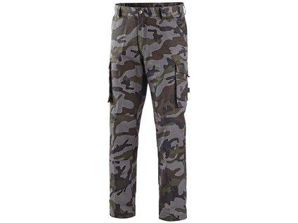 Kalhoty CXS CAMO, pánské, maskáčové