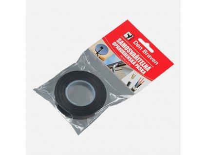Samosvařitelná opravárenská páska, 19 mm x 5 m, černá