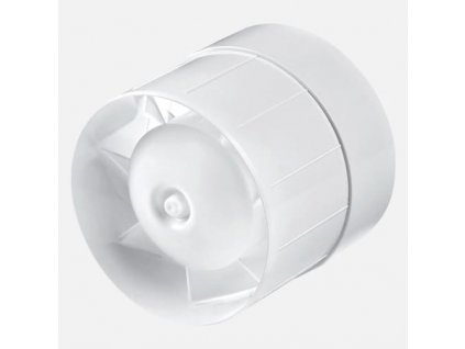 Ventilátor k odvětrání kanálových systémů bílý