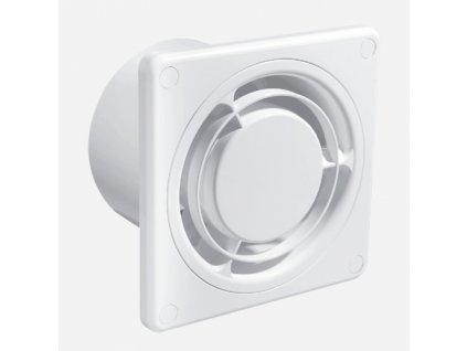 Ventilátor KLASIK, Ø100, bílý