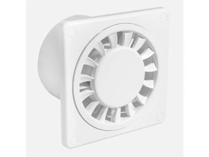 Ventilátor DISK, Ø100, bílý