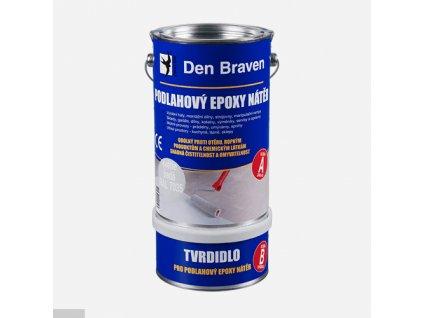 Podlahový epoxy nátěr, sada plechovek 5 + 1 kg
