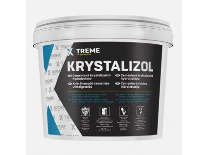 Cementová krystalizační hydroizolace Krystalizol šedá