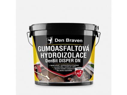 Gumoasfaltová hydroizolace DenBit DISPER DN černá
