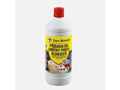 Přísada do omítky proti vlhkosti, láhev 1 litr